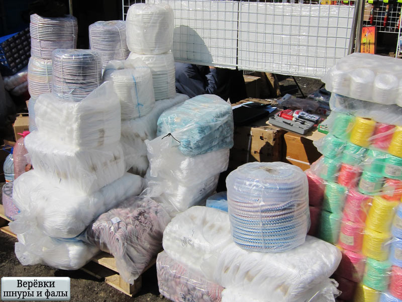 ЧП «СДР» предлагает оптом верёвки и тросы, шнуры и фалы, нити и шпагат белорусского производства
