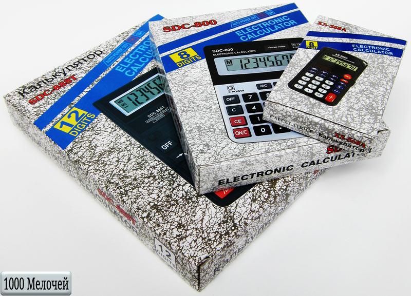 Калькуляторы на Митинском Радиорынке в павильоне 322 «Тысяча мелочей» - первая витрина