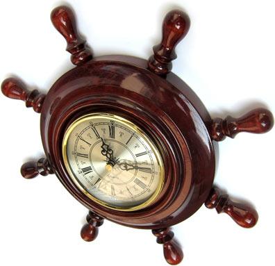 Часы на Митинском Радиорынке в павильоне 322 «Тысяча мелочей» - Малый штурвал