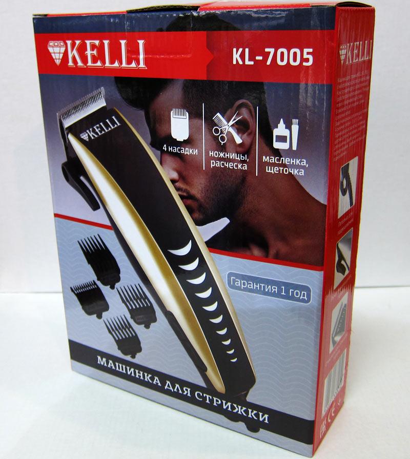 Машинки для стрижки волос «Kelli» на Митинском Радиорынке в павильоне 322 «Тысяча мелочей» - большое изображение