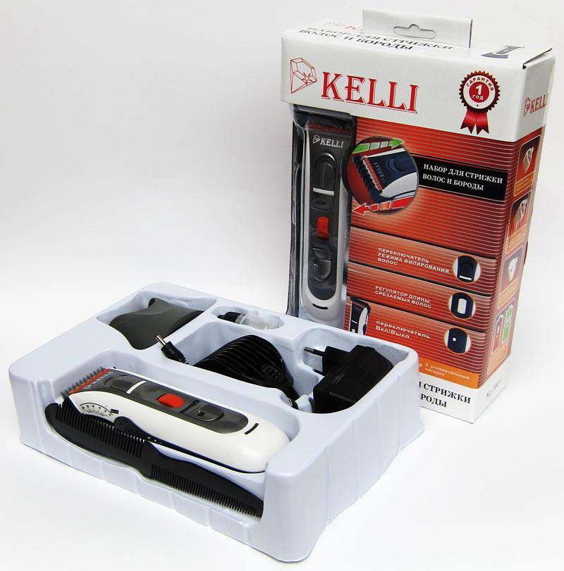 Машинки для стрижки волос «Kelli» на Митинском Радиорынке в павильоне 322 «Тысяча мелочей» - большое изображение второй машинки