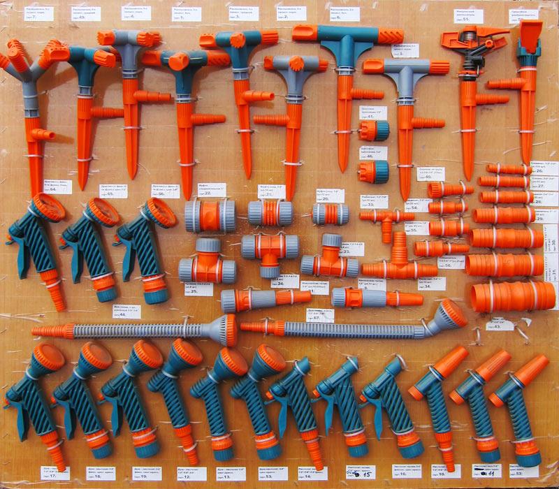 ООО «Ролл хаус». Наша витрина - соединители, насадки на шланги, пистолеты для полива SAYIM (Турция)