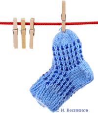 Фотография «Детские носочки». Автор Игорь Веснинов / Фотобанк Лори